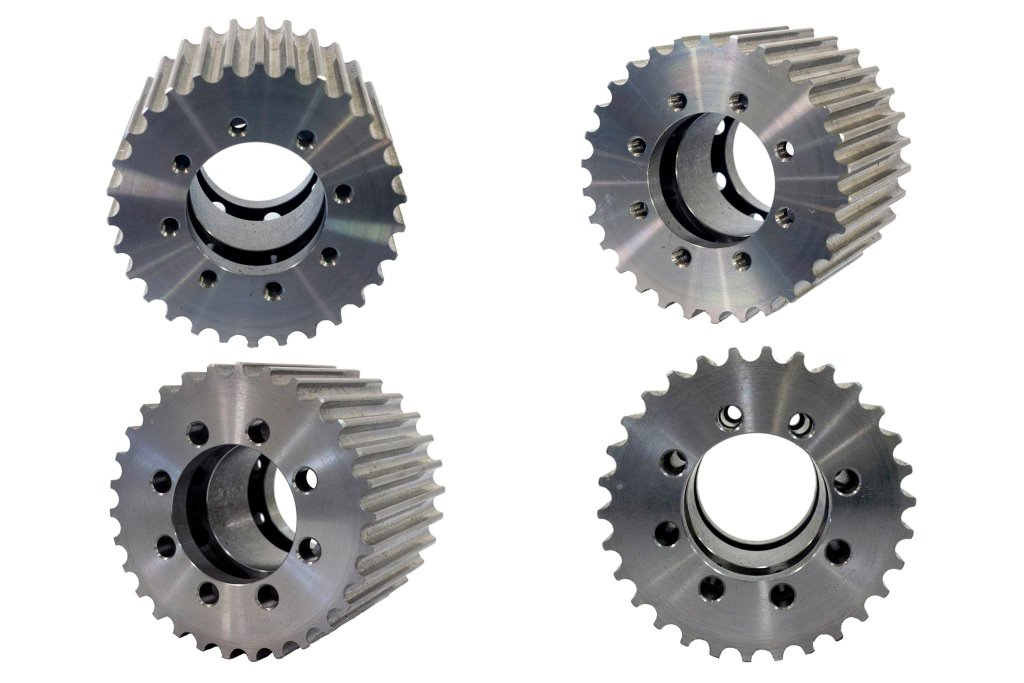 Timing Pulleys And Belts : Timing belt pulley power transmission components